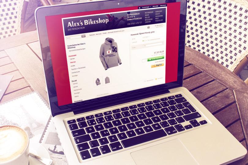 Alex Bikeshop - Online-Shop