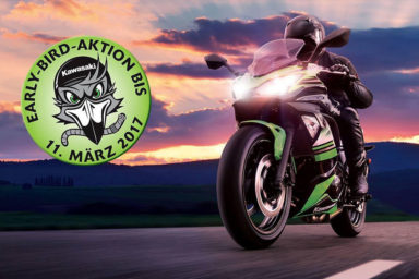 Alex Bikeshop - Kawasaki Early Bird Aktion 2017