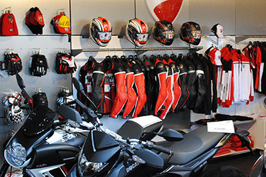 Alex Bikeshop - Motorradfahrer-Bekleidung