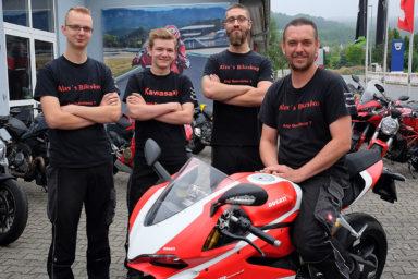 Alex Bikeshop - Werkstattteam