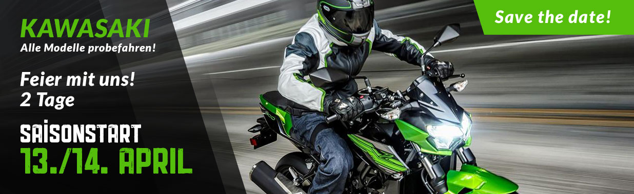 Alex Bikeshop - Saisonstart Kawasaki 2019