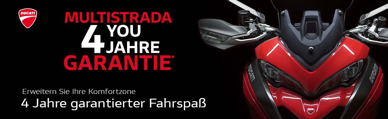 Alex Bikeshop - Ducati Multistrada - Jetzt mit 4 Jahren Garantie