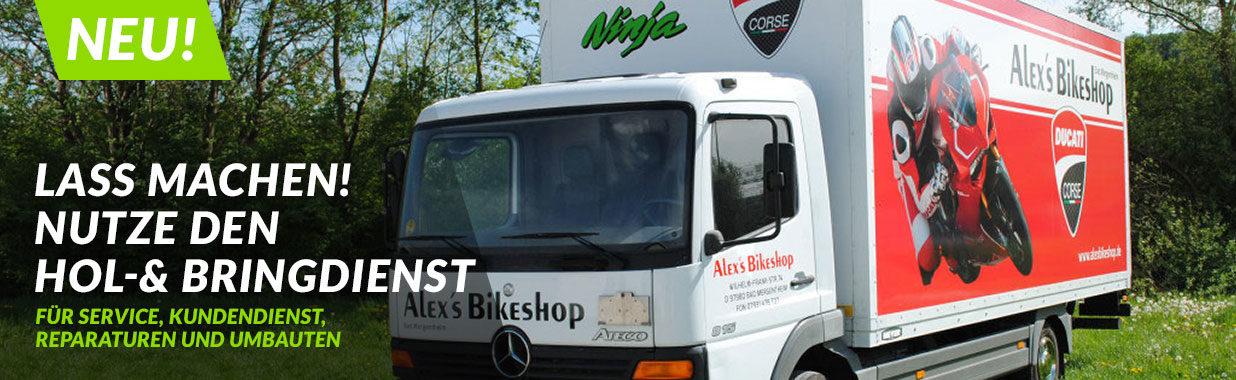 Alex's Bikeshop - Hol- und Bringservice